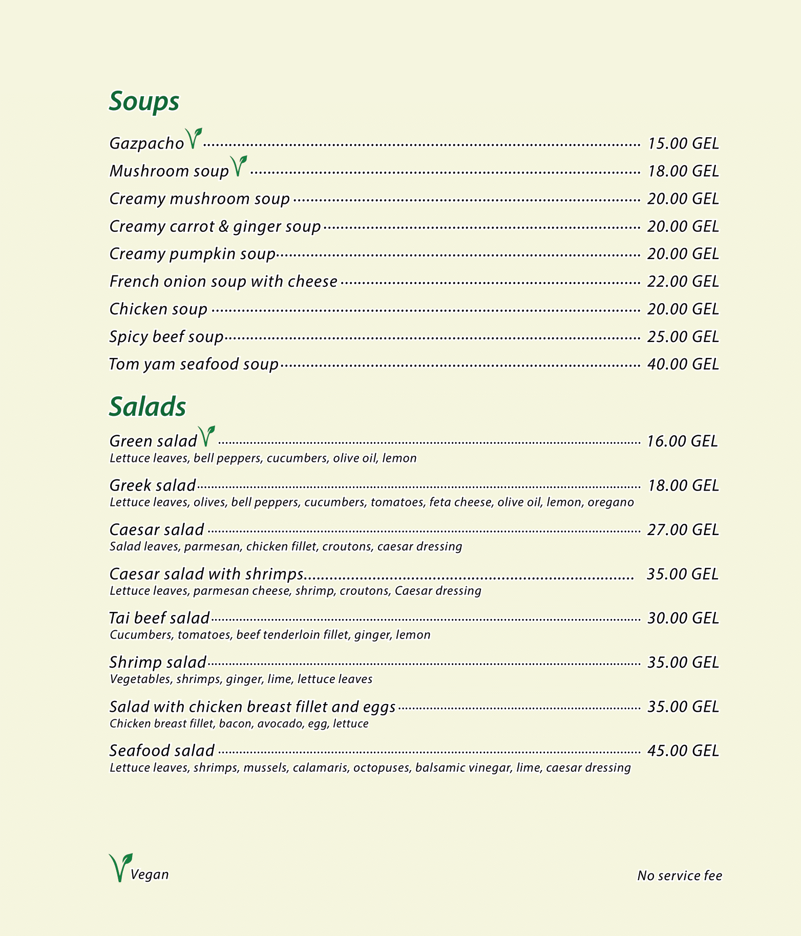 Menu Cafe Verde ENG 2020-04