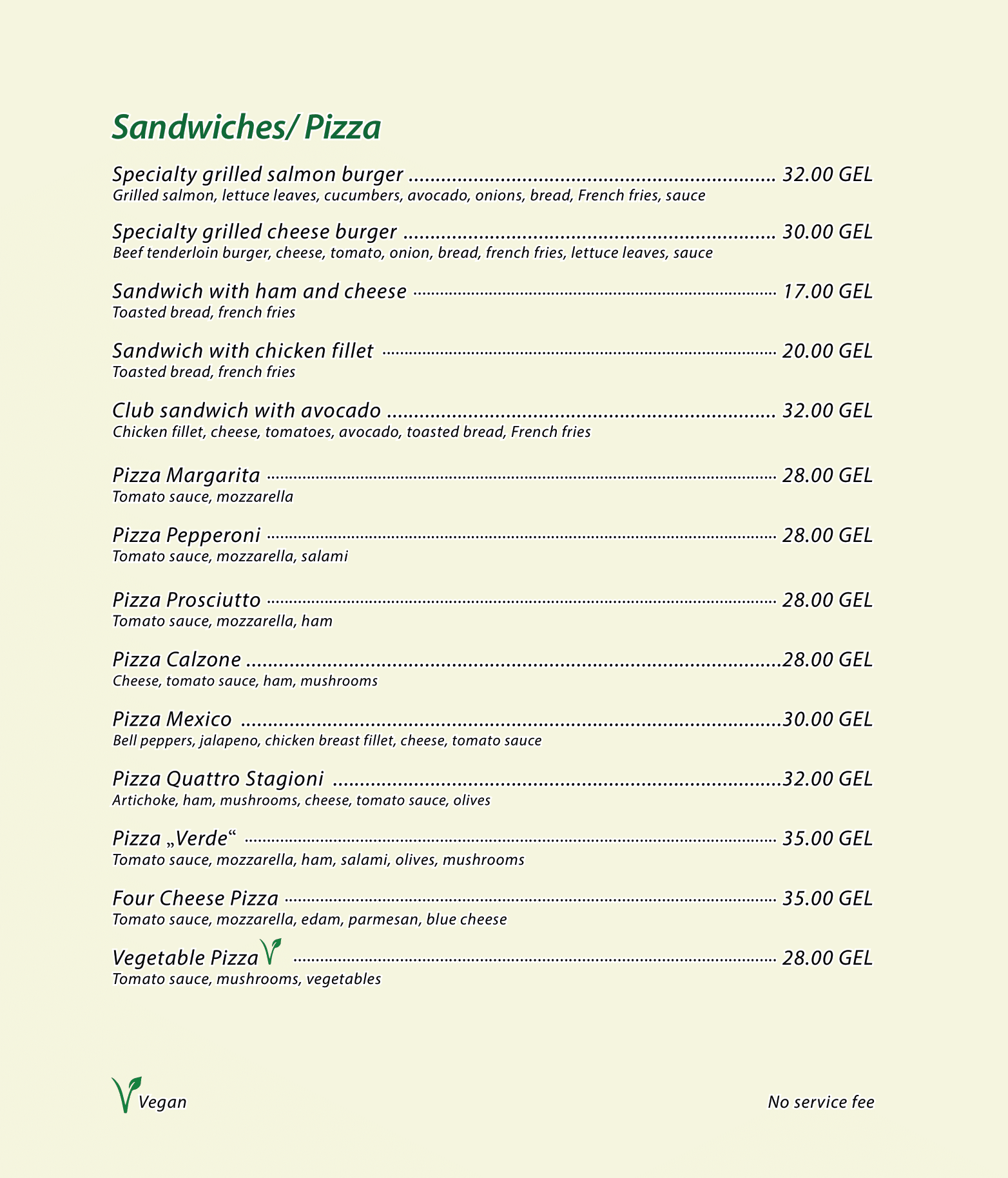 Menu Cafe Verde ENG 2020-05